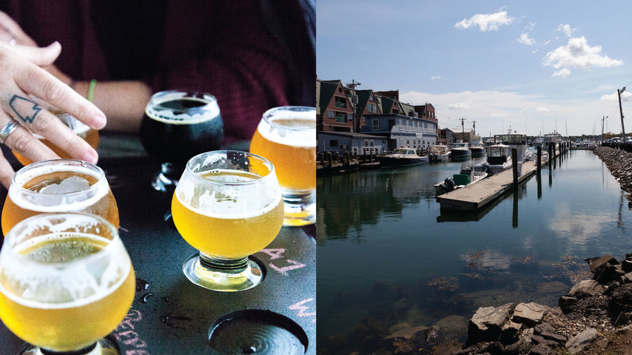 Food & Wine: A New England Brewery Road Trip