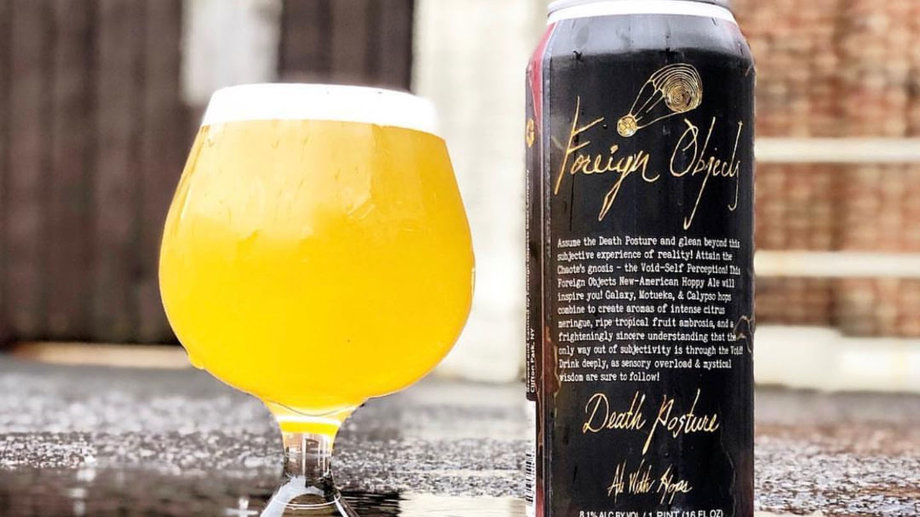 Foreign Objects Beer