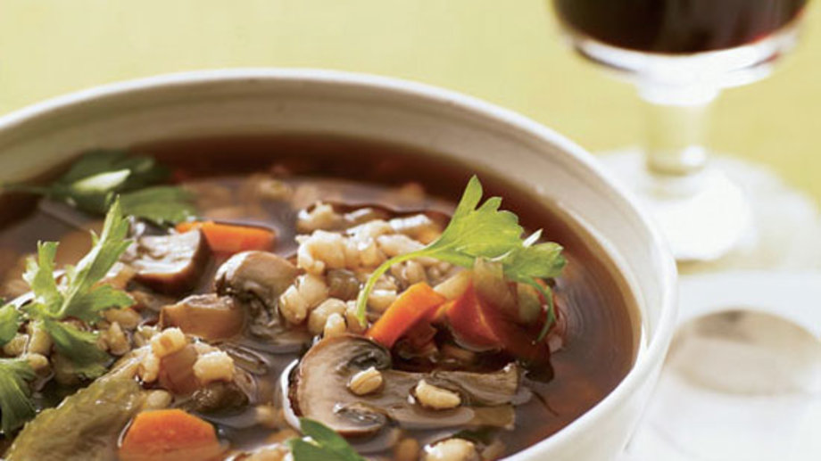 Food & Wine: Barley Soup