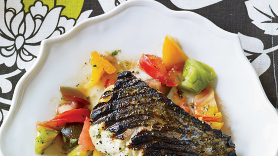 Food & Wine: Striped Bass