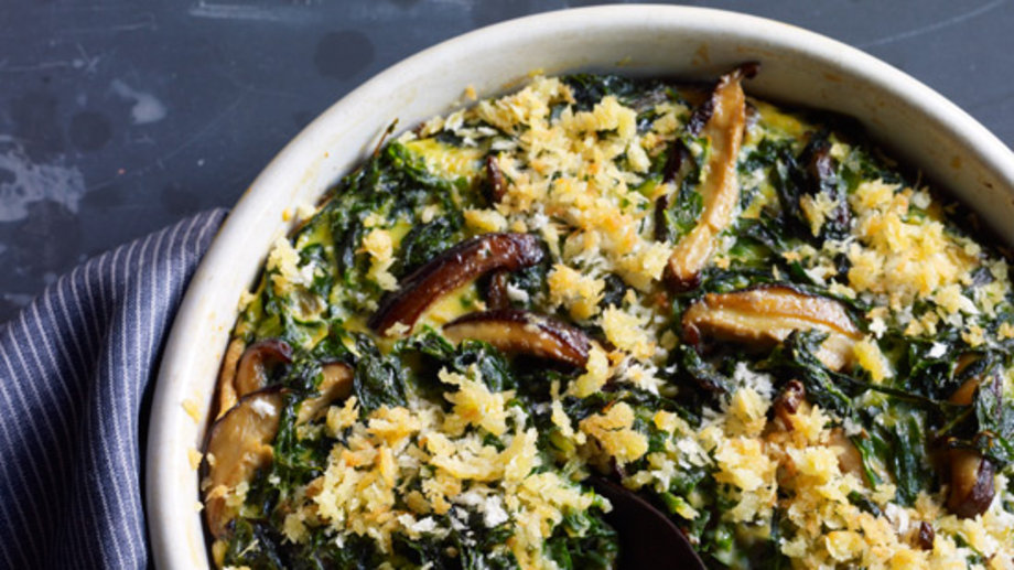 Food & Wine: Thanksgiving Swiss Chard Recipes