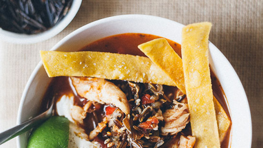 Food & Wine: Chicken Tortilla Soup