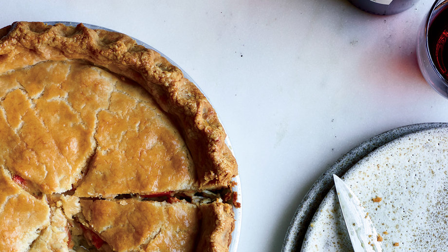 Food & Wine: How to Make Chicken Potpie