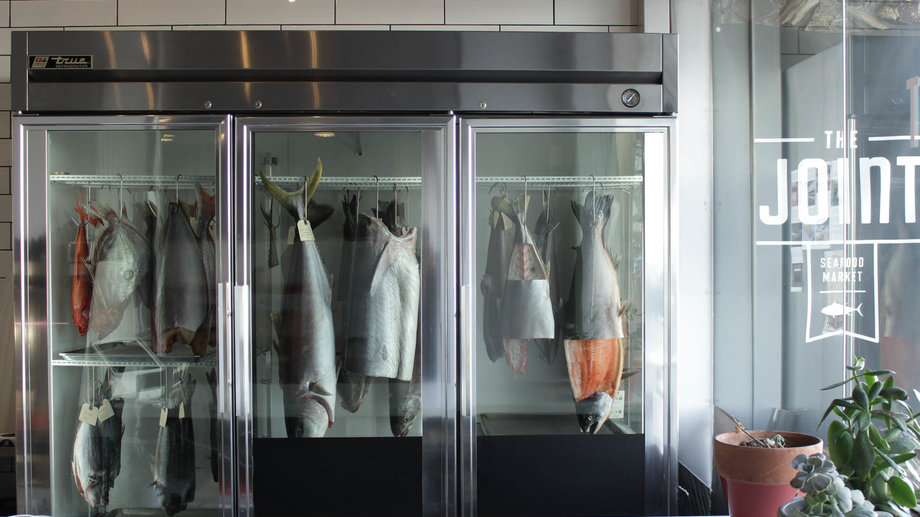 The Joint Dry Aged Fish