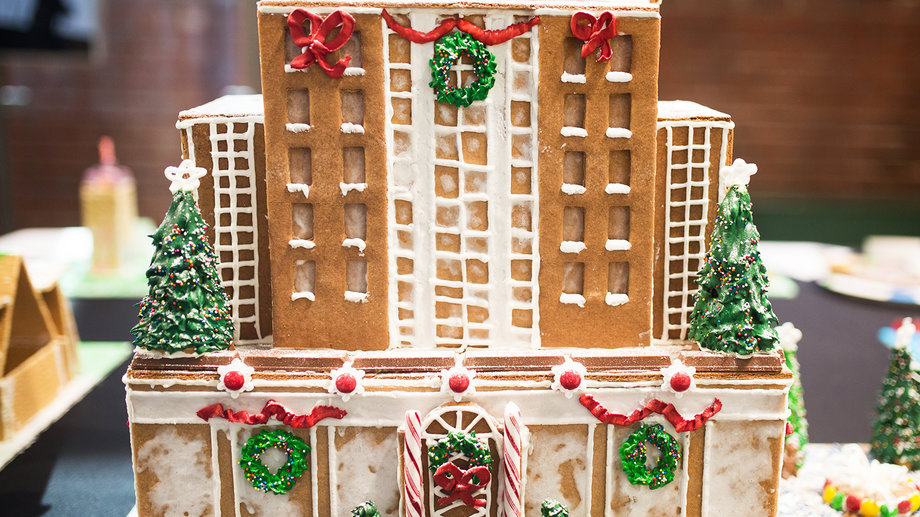 gingerbread empire state building