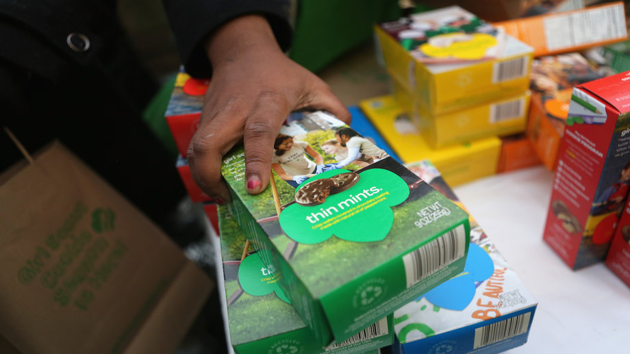 Girl Scout troop leader charged with theft of cookies