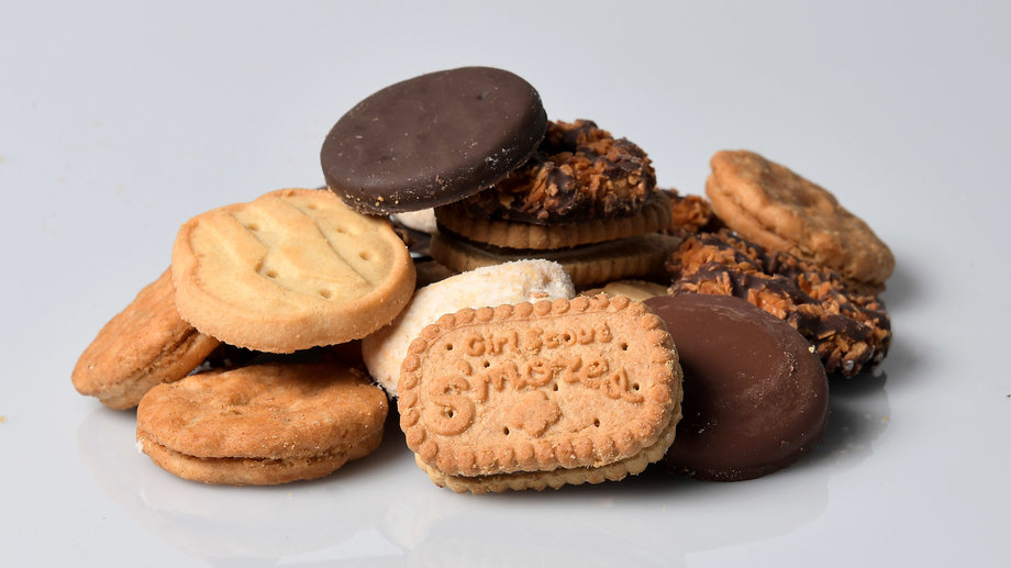 Girl Scout Cookies in Recipes
