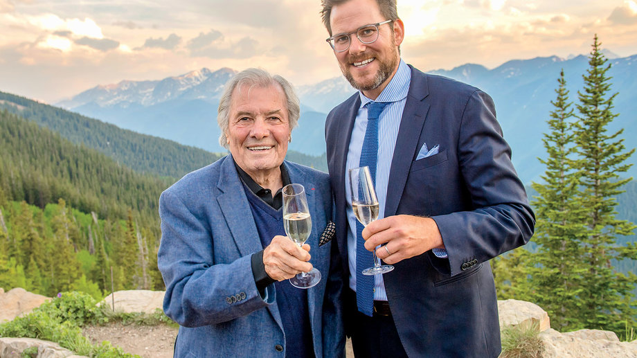 Jacques Pepin and Hunter Lewis