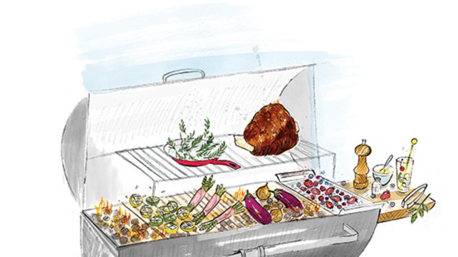 Food & Wine: Grilling with Live Fire