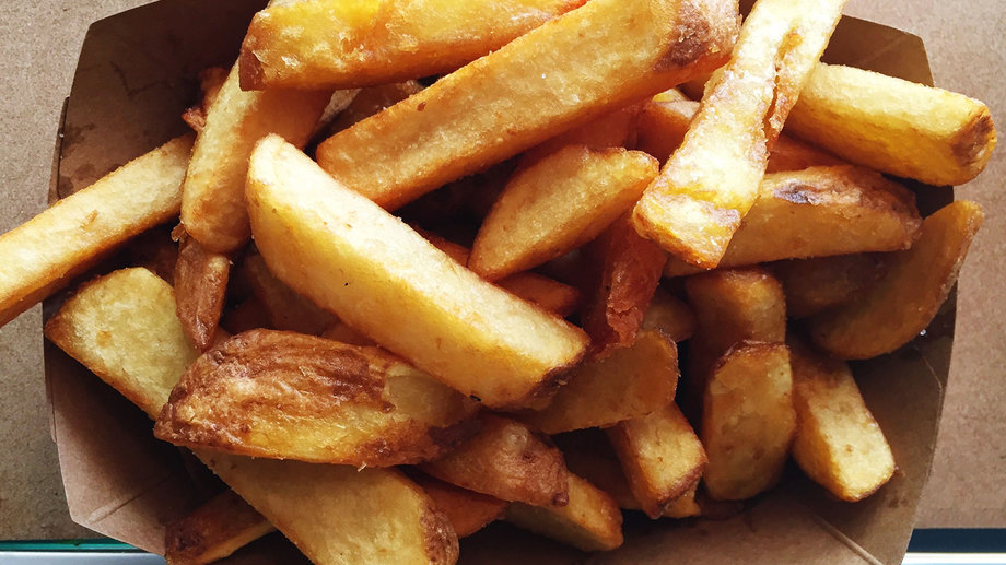 overpriced potatoes paying too much for french fries