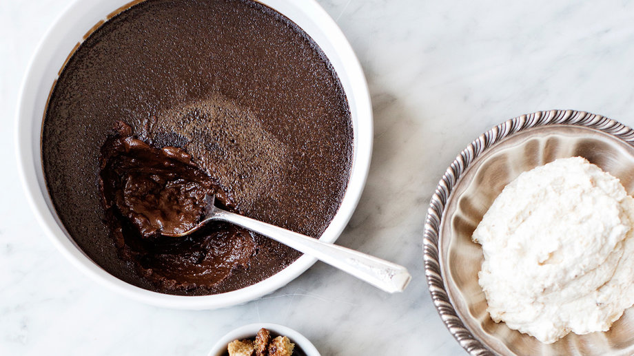 Food & Wine: Chocolate Pudding Recipes