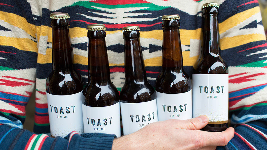 toast ale recycled beer