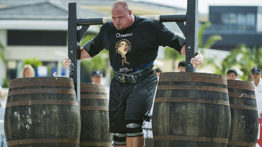 This Is What the World's Strongest Man Eats in a Day ...