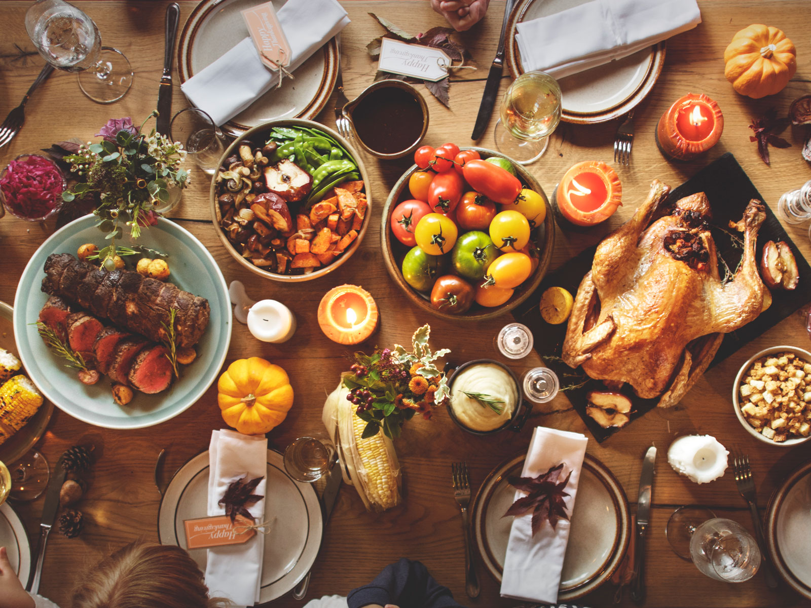 Thanksgiving Decorating, Tablescape and Centerpiece Tips and Ideas