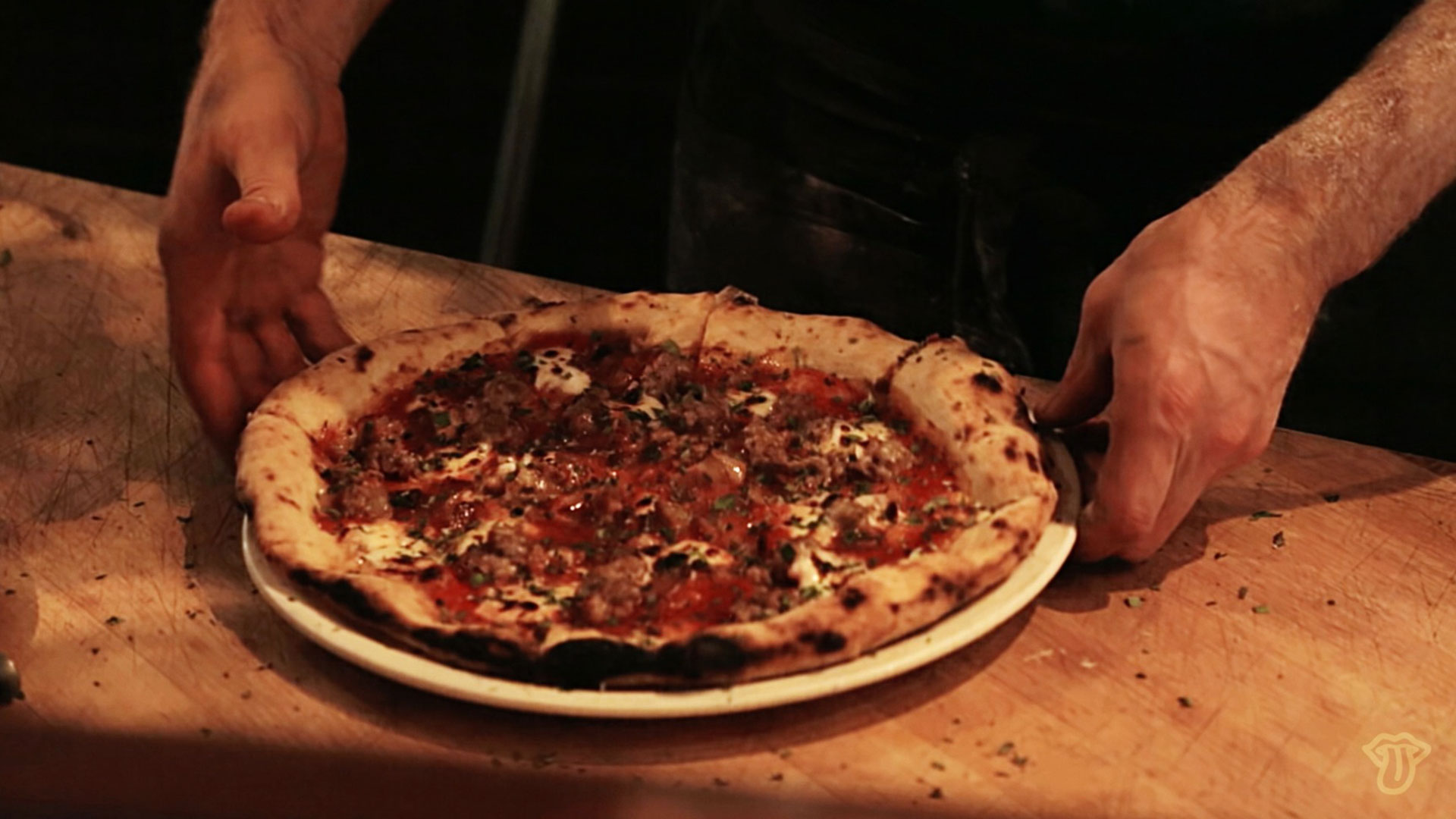 How Charlie Hallowell Went from Single Dad to Star Pizzaiolo
