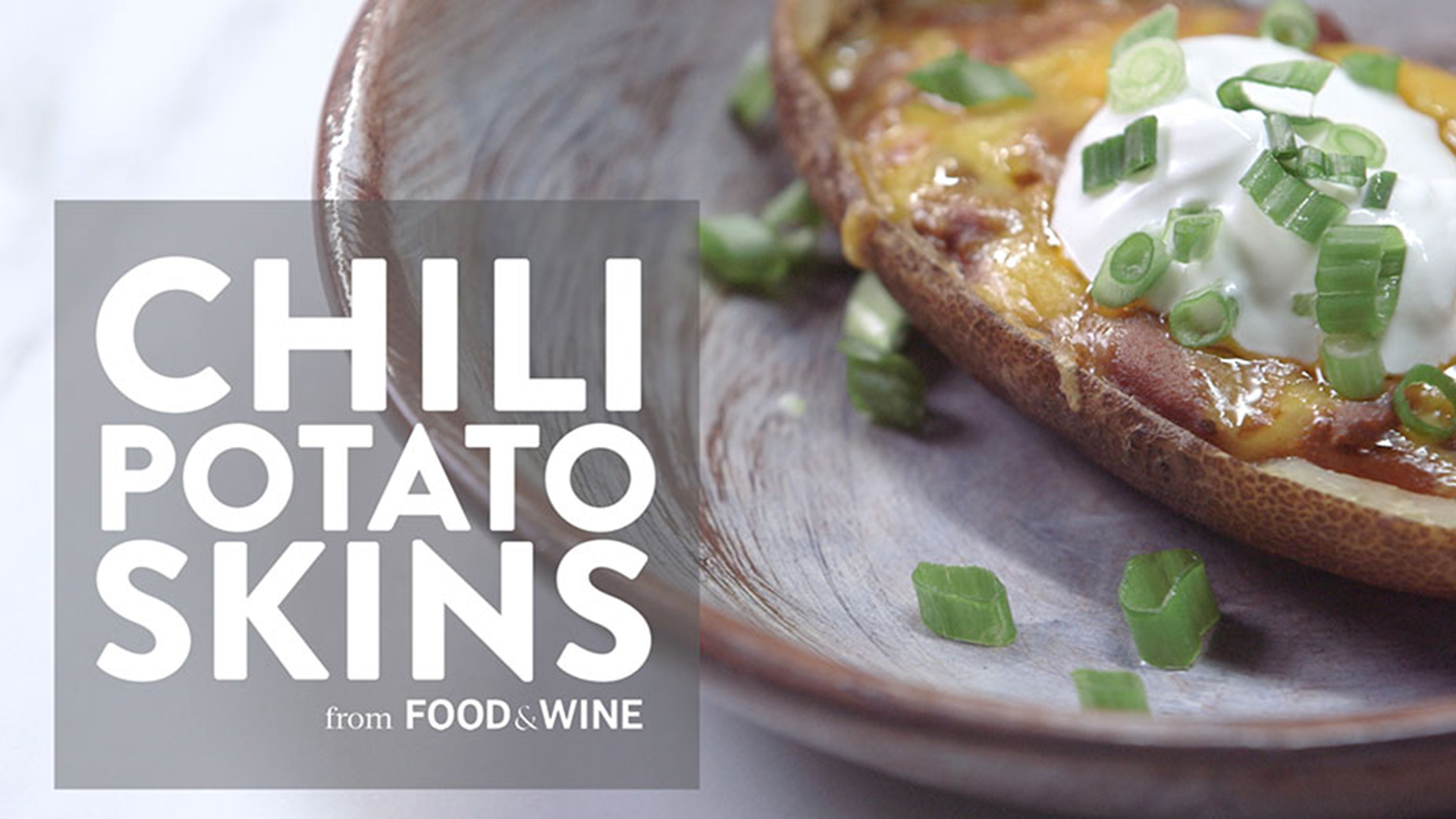 How to Make Chili Potato Skins