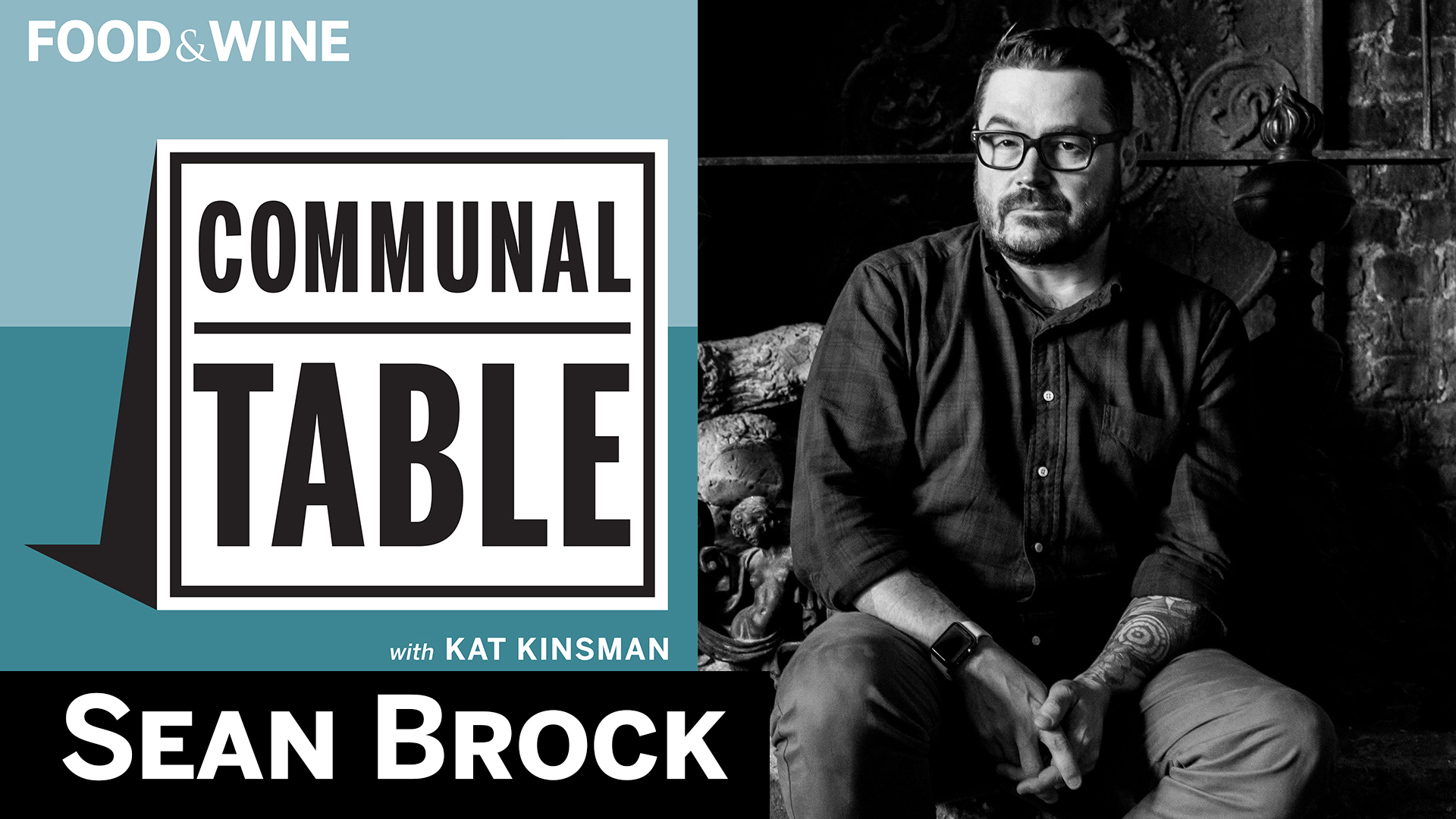 Communal Table Podcast: Sean Brock Live at The Bell House
