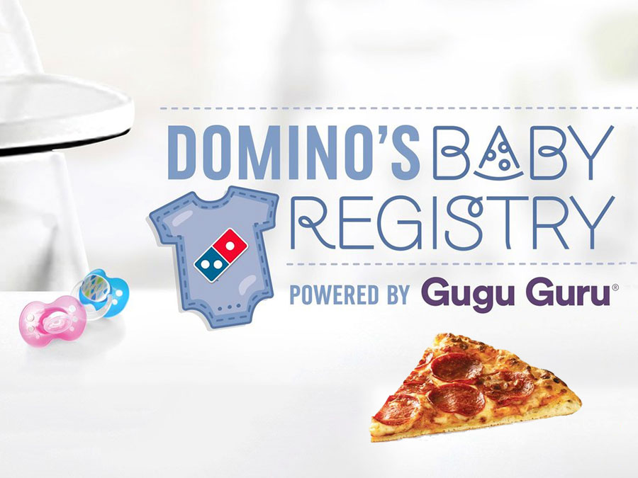 Domino's Has a Baby Registry Featuring Clothes, Mugs, and Pizza Packages