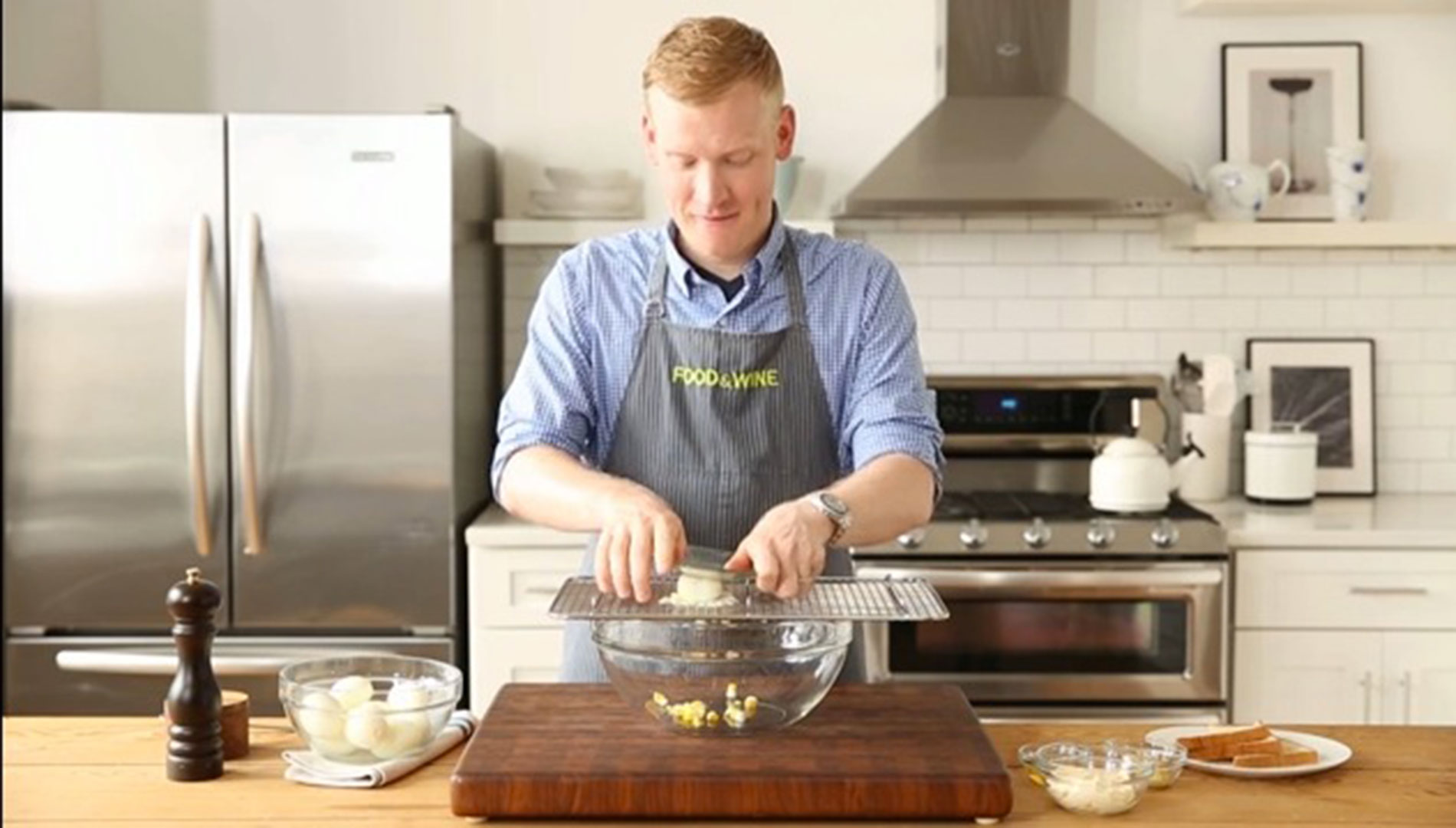 How to Make Egg Salad Like Jamie Bissonnette