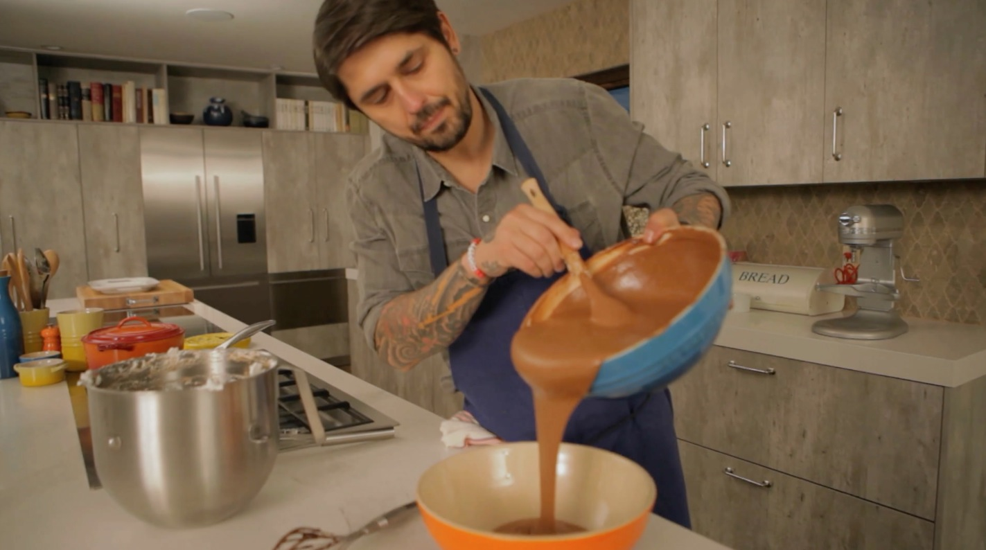 Ludo Lefebvre's Ultimate Chocolate Mousse