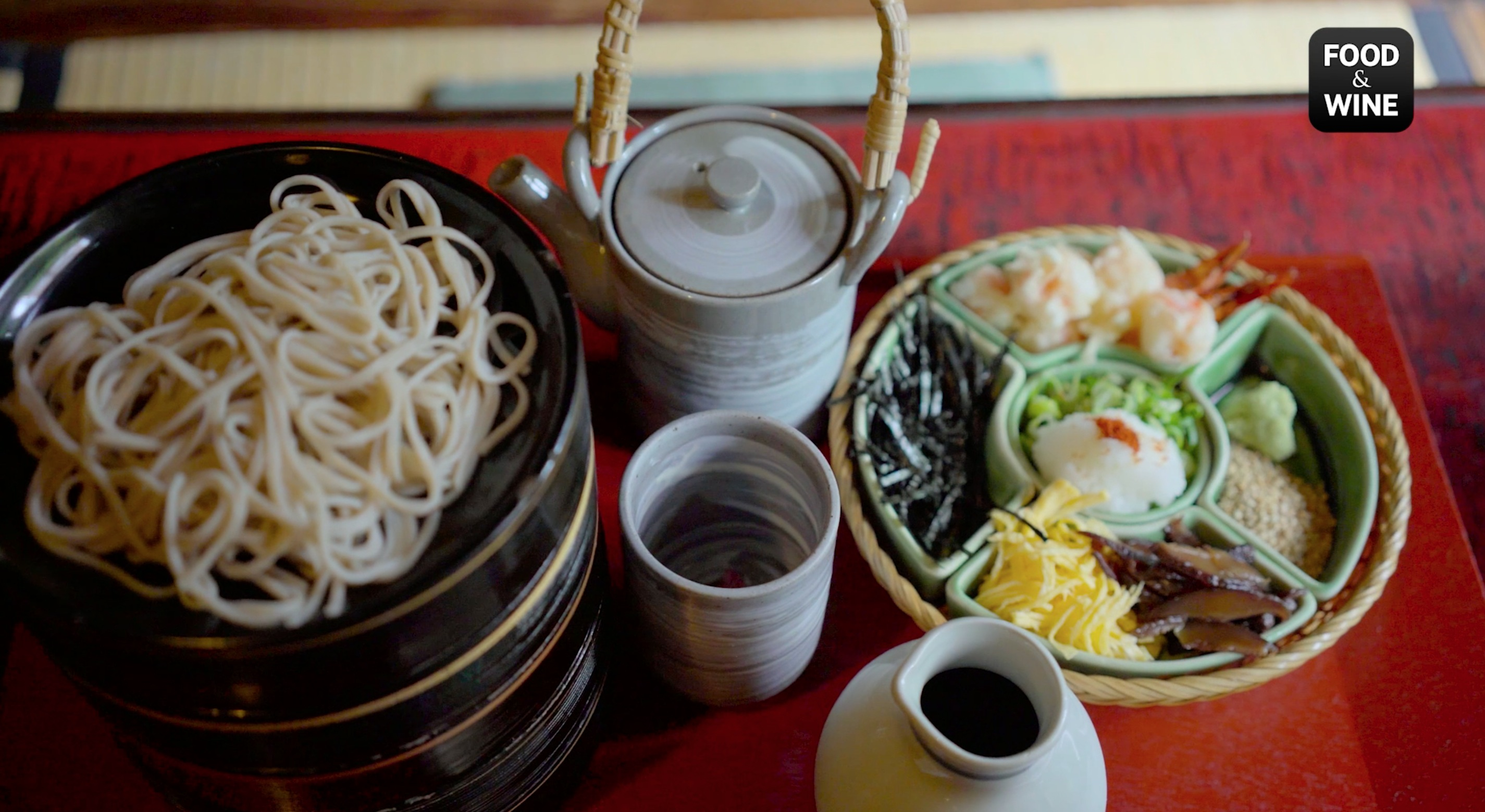 Japan's Oldest Soba Shop