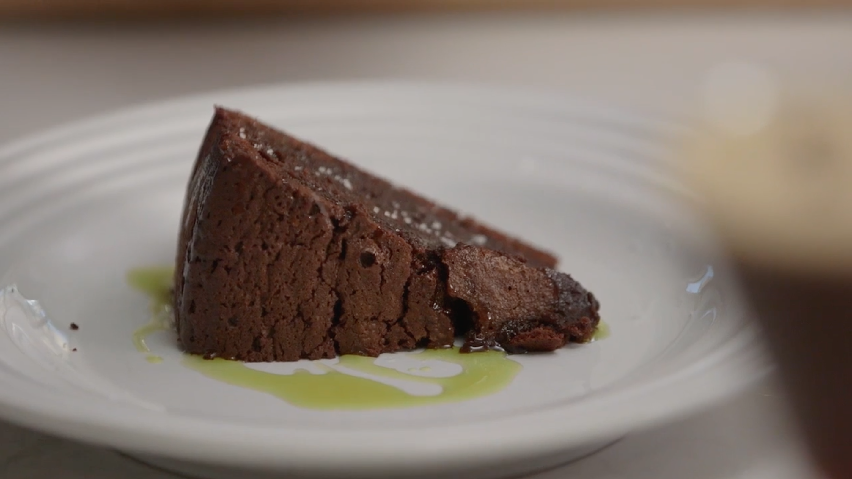 Ludo Lefebvre's Chocolate Cake Goes Great With His Espresso Martini