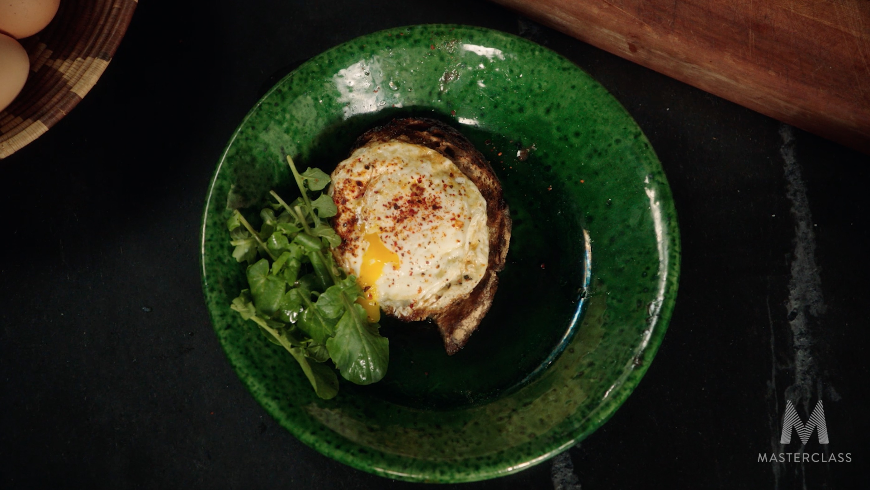 Alice Waters' Secret for Preparing an 'Egg on a Spoon'