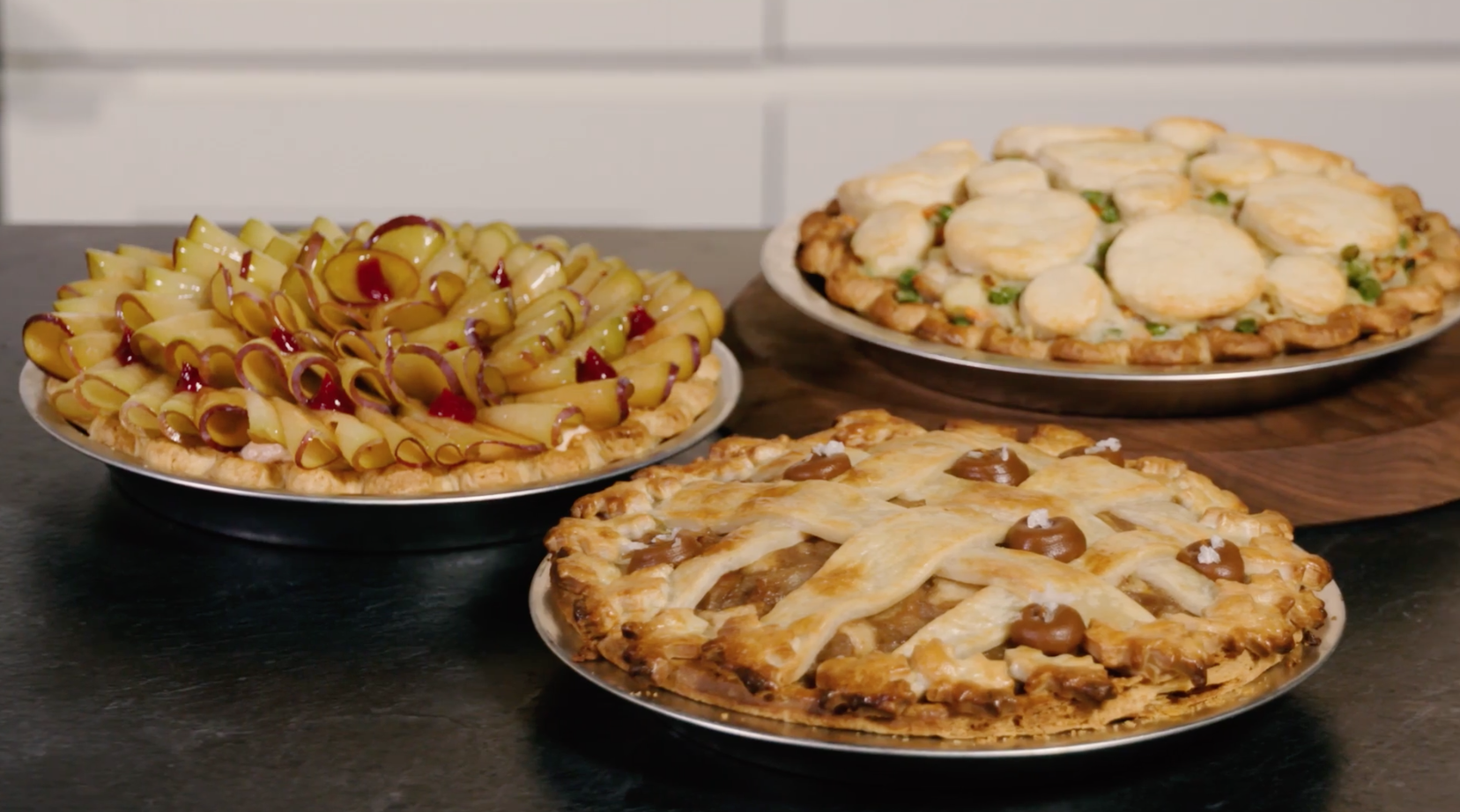 Three Pies with Dominique Ansel