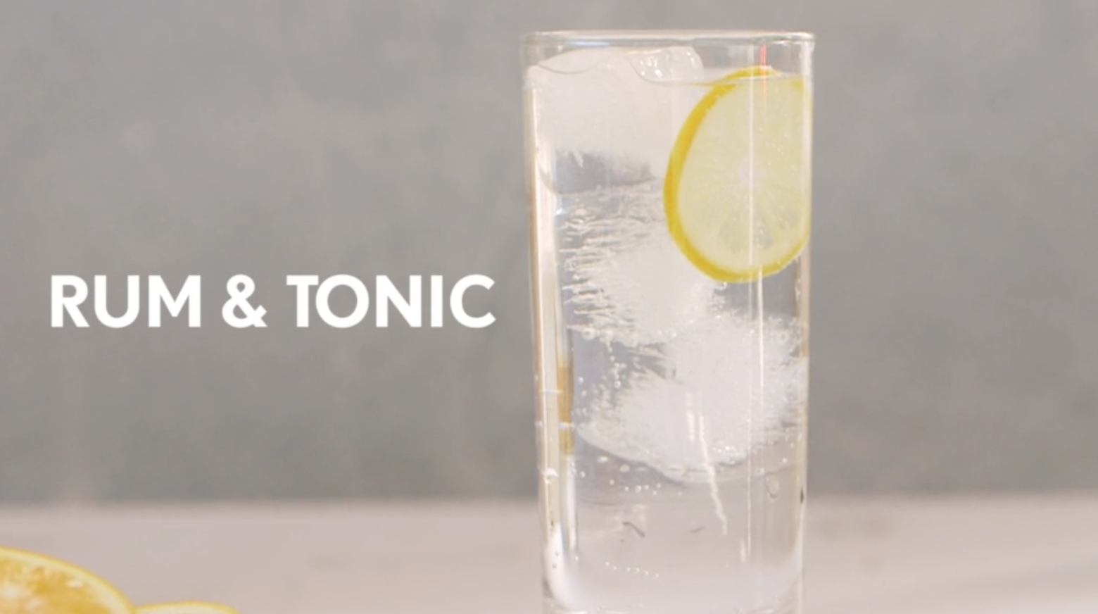 Rum and Tonic