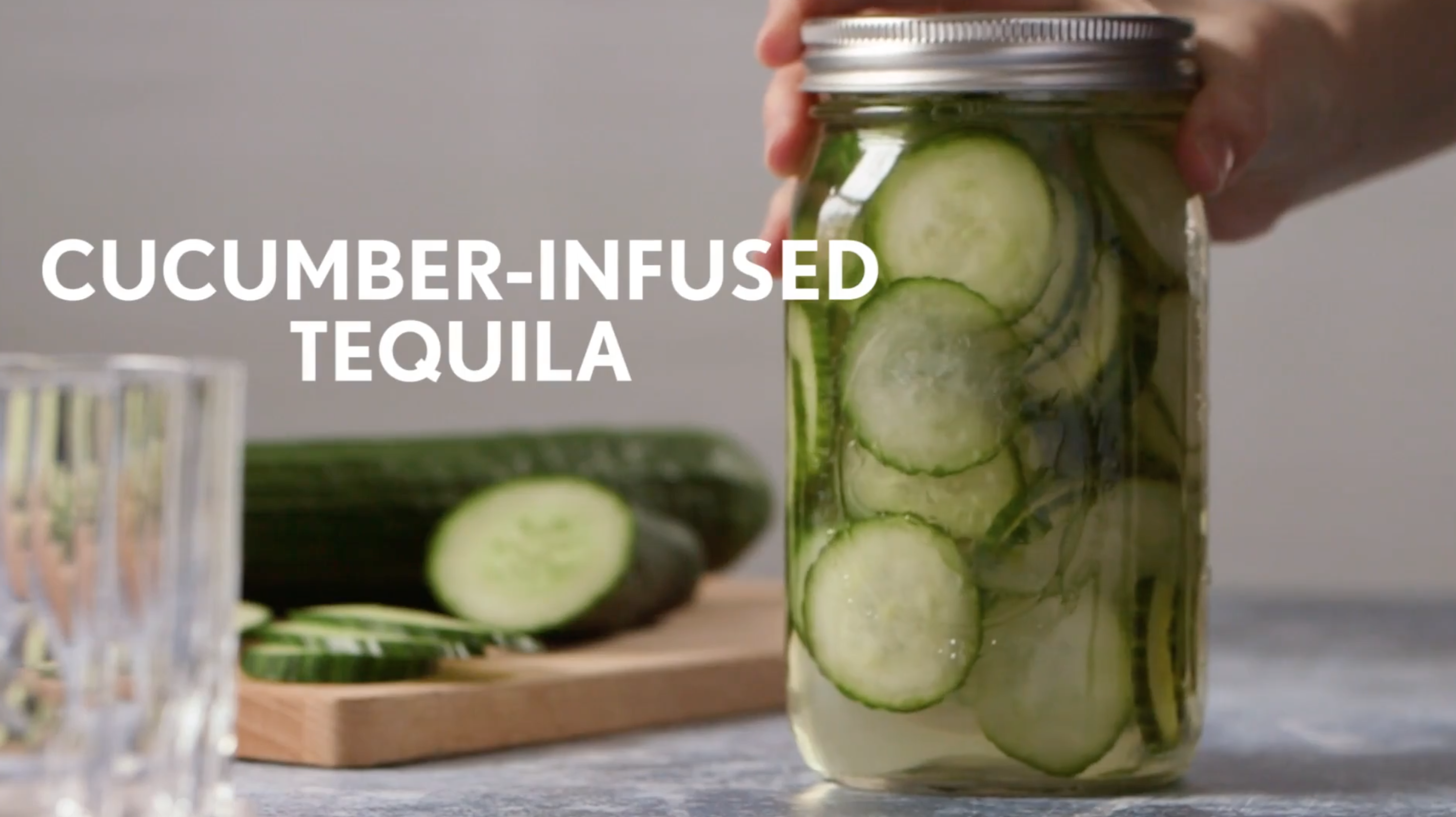 Cucumber-Infused Tequila