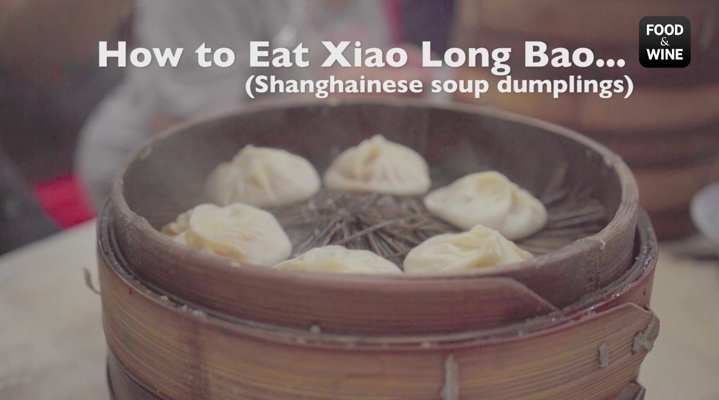 How to Eat Xiao Long Bao