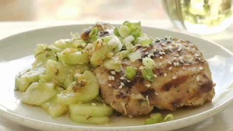 Ultimate Reader Recipe Contest: Seoul-ful Chicken with Minted Cucumbers