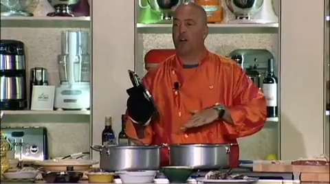 Andrew Zimmern: Your Grandmother's Braised Goat Shoulder with Red Wine