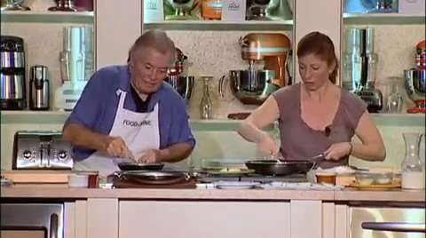 Jacques & Claudine Pépin: Classic French Omelet