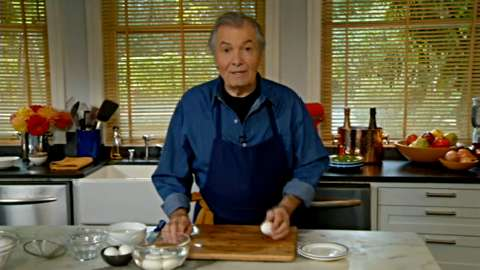 Jacques Pépin: Hard-Cooked Eggs