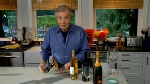 Jacques Pépin: How to Open Wine