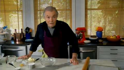 Jacques Pépin: Making, Rolling, and Forming Sweet Dough