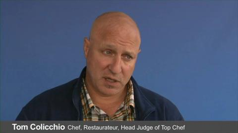 Tom Colicchio on How to Keep Fish from Sticking