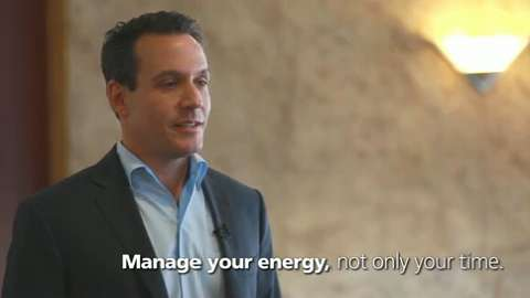 Executive Travel Speaker Series: Renew Your Workday Energy