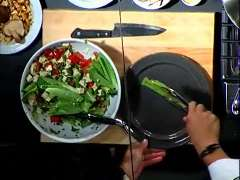 Ming Tsai: Tofu Greek Salad