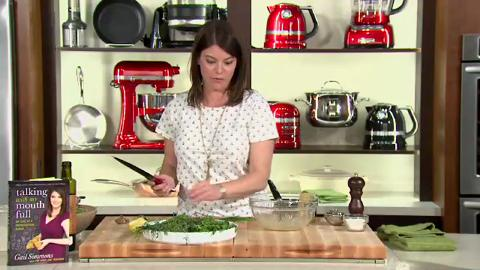 Gail Simmons: Making Vinaigrette