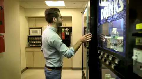 Hugh Acheson at the FOOD & WINE Vending Machine