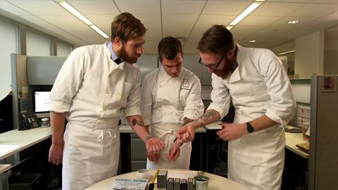 FOOD & WINE Hugh Acheson & Mast Brothers Tattoos