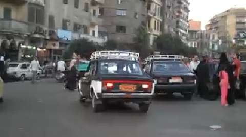 Taxi Ride Through Cairo