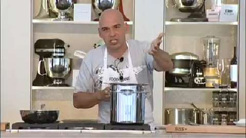 Michael Symon: Mac and Cheese with Roasted Chicken, Goat Cheese and Rosemary