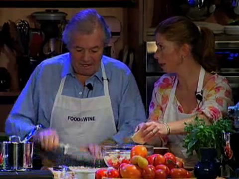 Jacques and Claudine Pépin: Gratin of Tomato and Bread