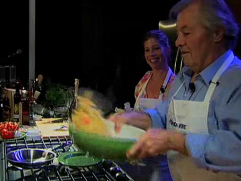 Jacques and Claudine Pépin: Penne with Fresh Tomato and Anchovy Sauce
