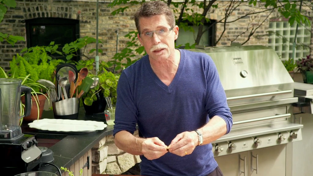 Rick Bayless: How to Grill Garlic