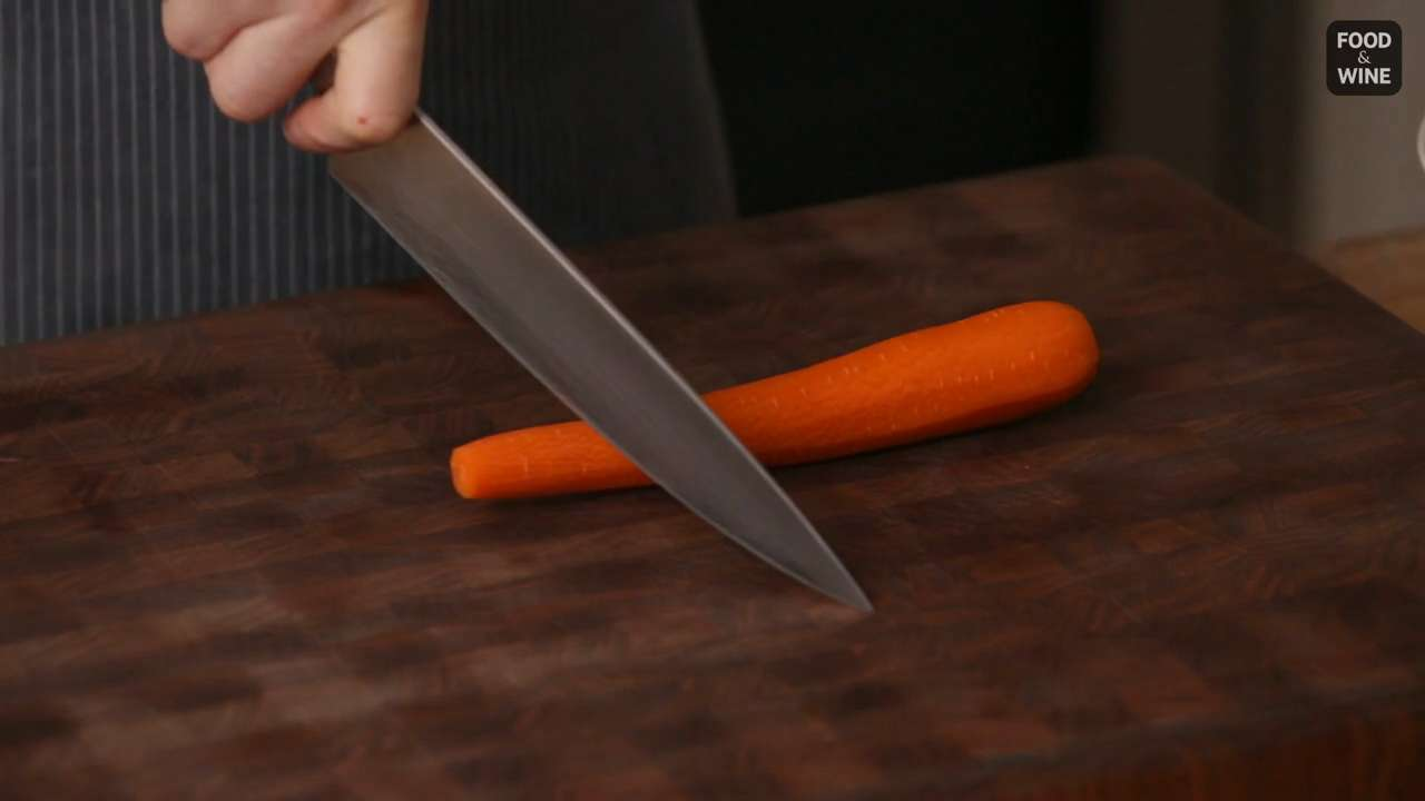 How to Cut Carrots Into Even Pieces