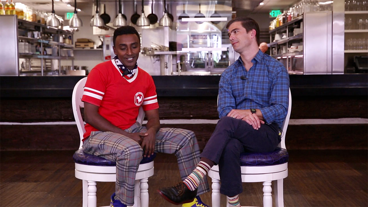 Marcus Samuelsson and Hugh Acheson: The Best Fried Chicken